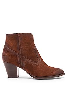 Renee Seam Short Bootie – 棕色
