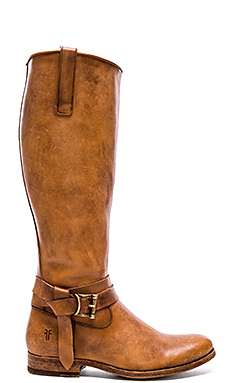 Melissa Knotted Tall Boot in Tan