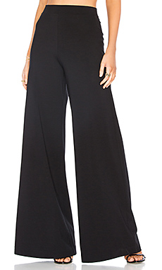 The High Rise Palazzo Pant en Noir
