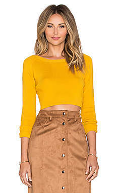 TOP CROPPED LONG SLEEVE