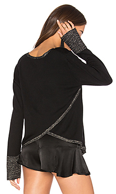 Stella Lurex Top en Black With Lurex