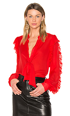 The Star Blouse en Rouge Flamme