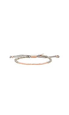 Balance Power Gemstone Bracelet en Or Rose & Labradorite