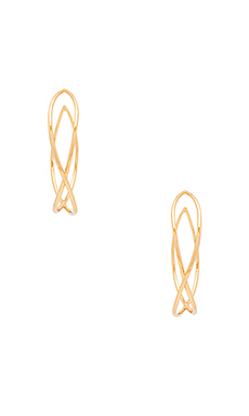 Autumn Hoop Earrings – 金色