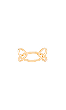 Autumn Cuff Ring – 金色