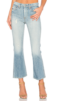 JEAN FLARE CROPPED JOAN MID-RISE