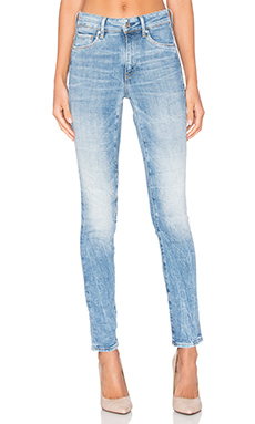 3301 Ultra High Super Skinny Jean in Light Aged