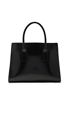 Lev Tote Bag in Black & Silver