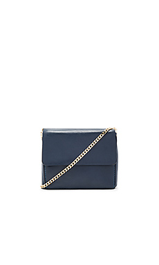 Yael 2.0 Shoulder Bag in Navy & Gold