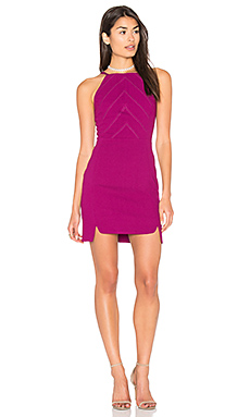 Hilary Double Slit Dress en Orchid