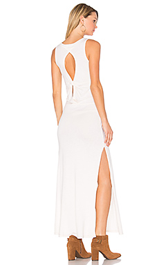 Knot Back Maxi Dress en Ivory