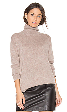 PULL COL MONTANT OVERSIZED CACHEMIRE