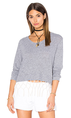 Macrame Sweatshirt in Bone