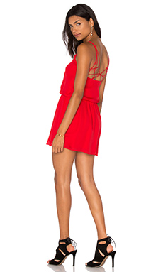 The Exit Strategy Dress in Blaze