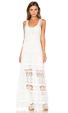 The Lace Layers Dress in Vintage