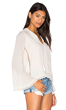 The Daisy Blouse en Swan