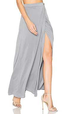 Luanne Maxi Skirt in Grey