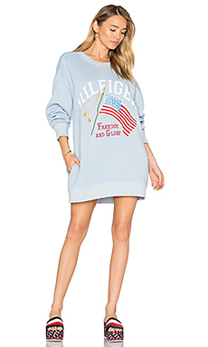SWEAT PATCHWORK DRAPEAU