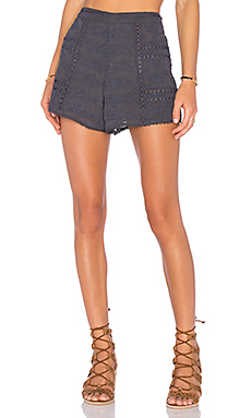 x REVOLVE Grace Tie Waist Short in Ash