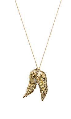 The Avium Double Pendent Necklace – 金色
