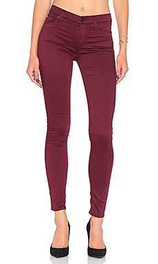 Nico Mid Rise Super Skinny in Dark Amber