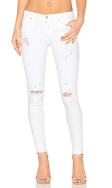 JEAN SUPER SKINNY TAILLE MOYENNE NICO