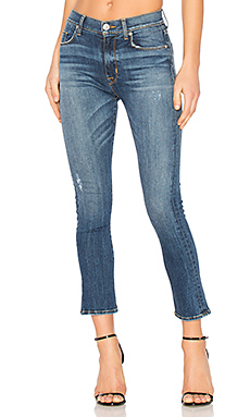 JEAN FLARE CROPPED HARPER BABY KICK