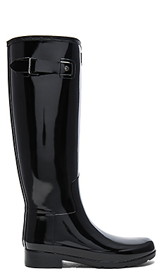 Original Refined Gloss Boot en Noir