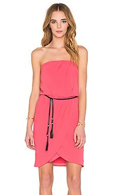Bustier Mini Dress – 玫瑰红