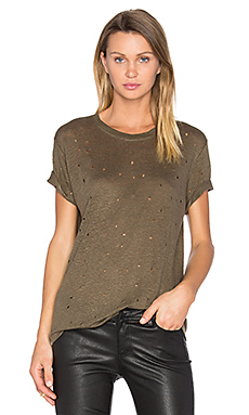 T-SHIRT DISTRESSED CLAY