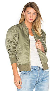 Atilla Bomber Jacket in Khaki