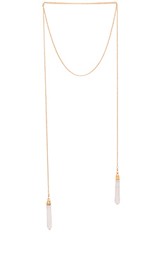 COLLIER DOUBLE CRYSTAL WRAP