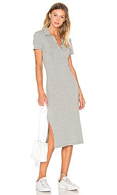 短袖罗纹款连衣裙