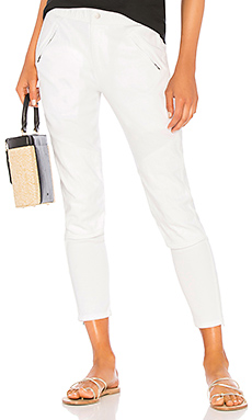 Easy Biker Pant in White. - size 2 (S/M) (also in 0 (XXS/XS),1 (XS/S),3 (M/L)) James Perse