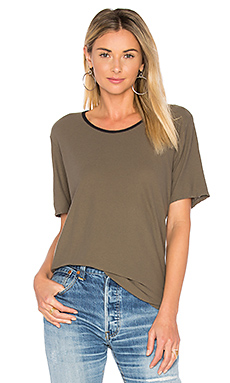 T-SHIRT RELAXED RINGER