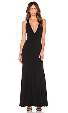 Abbotsford Maxi Dress in Black