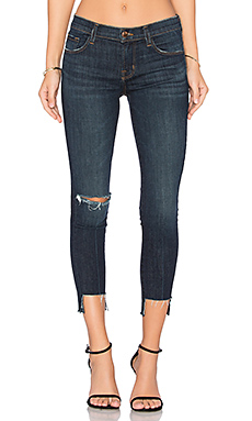 9326 Low Rise Crop Skinny en Disguise Destructed