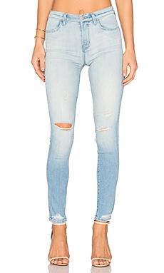 MARIA 高裆紧身牛仔裤