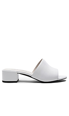 Beaton Sandal in White Leather