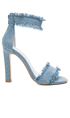 Inab 2 Heel in Light Blue Denim