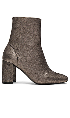 Cienega Lo Booties in Pewter Glitter Strech