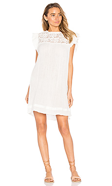 Nyala Mini Dress in White