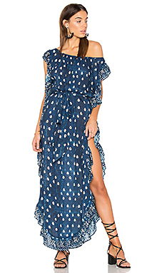 Indigo Ever After Kaftan en Indigo