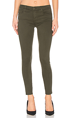 The Icon Ankle Skinny en Vert Militaire