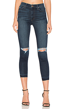 JEAN SKINNY CROPPED TAILLE HAUTE THE CHARLIE