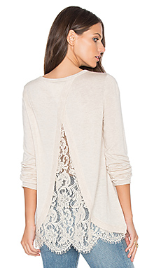 Marianna Sweater in Heather Antique White