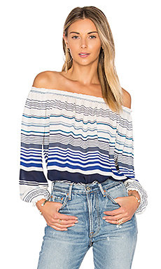 Bamboo Top en Harbor Blue
