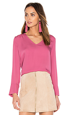 Theda Blouse en Light Berry