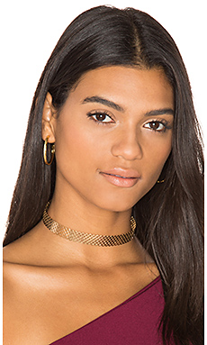 Net Choker in Gold
