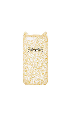 GLITTER CAT IPHONE 7 外壳